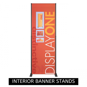 Messenger X Interior Banner Stand